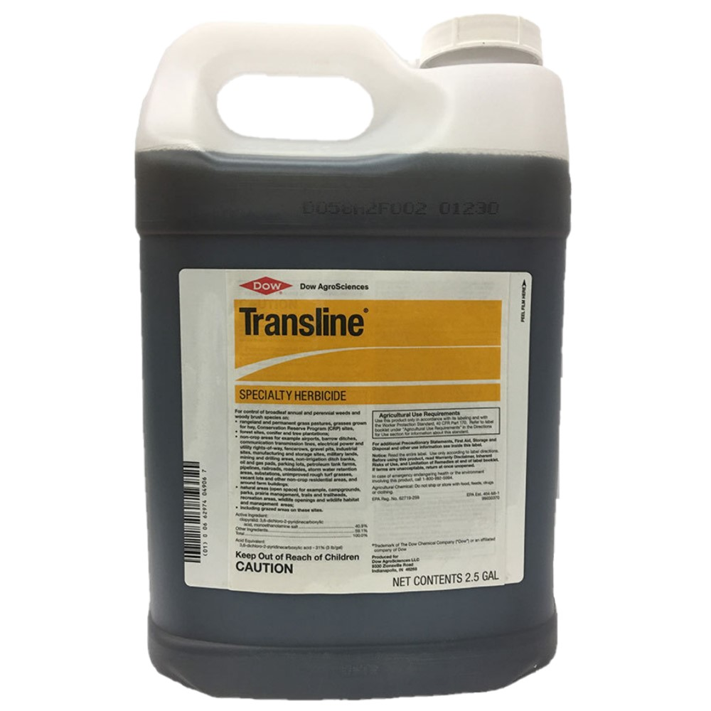 Transline Specialty Herbicide with Clopyralid-2.5 Gallon