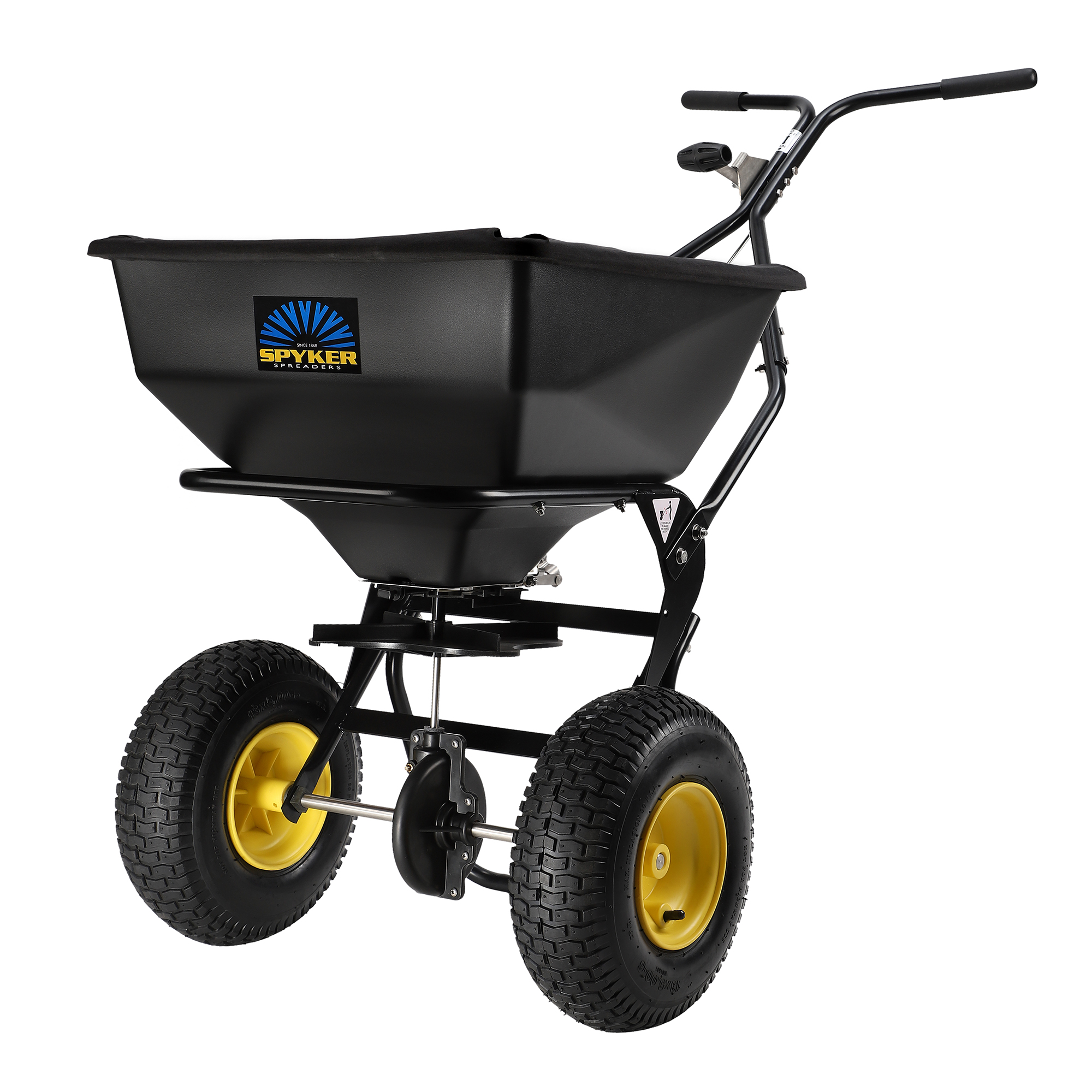 Spyker Ergo-Pro Walk-Behind Broadcast Spreader - 80-Lb. Capacity, Model# SPY80-1P