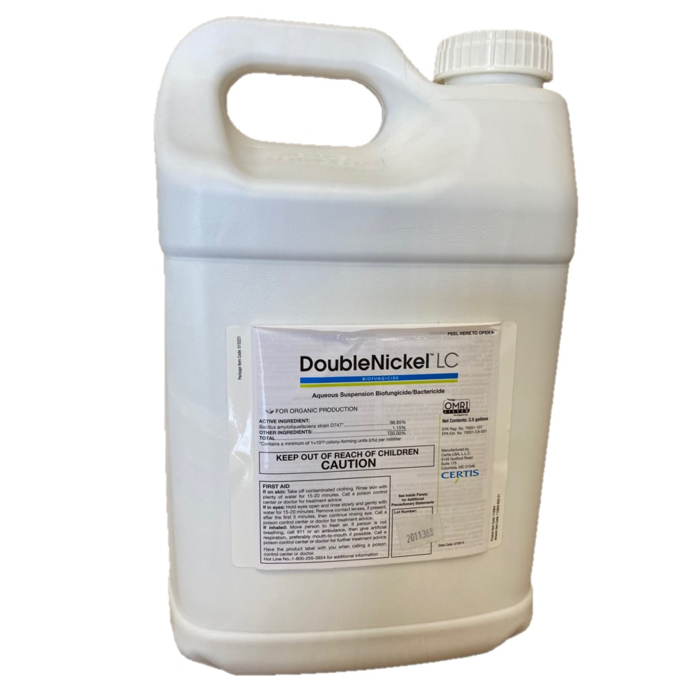 Certis Double NIckel LC 2.5 gallon Fungicide