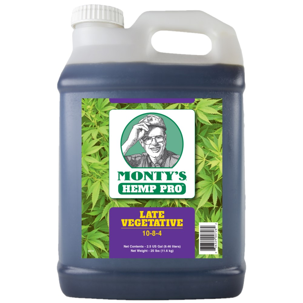 Monty's Hemp Pro Late Vegetative