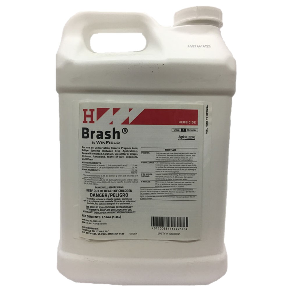Brash Herbicide for Pasture, Right of Way and Rangeland 2.5 Gallon