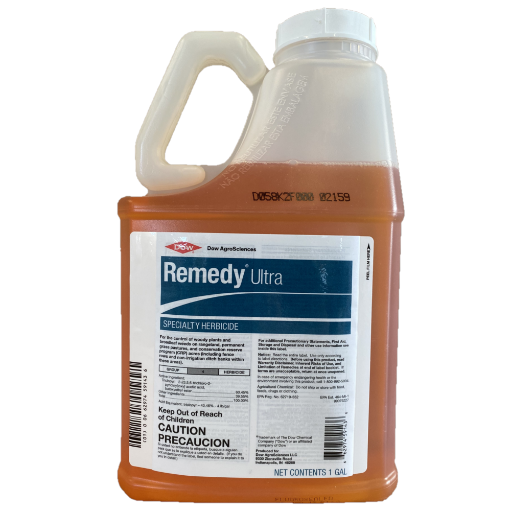 Remedy Ultra Weed Killer & Brush Control At Rangeland and Fence Lines, 1 Gallon