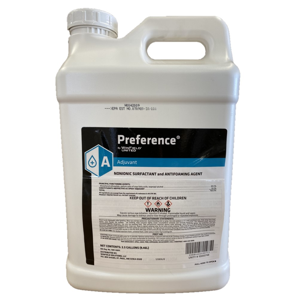 Preference Premium Nonionic Surfactant and Antioaming Agent 2.5 Gallon