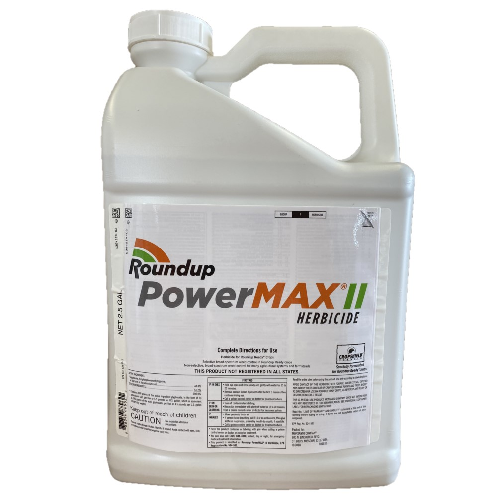 Roundup Power Max II 48.8% 2.5 Gallon