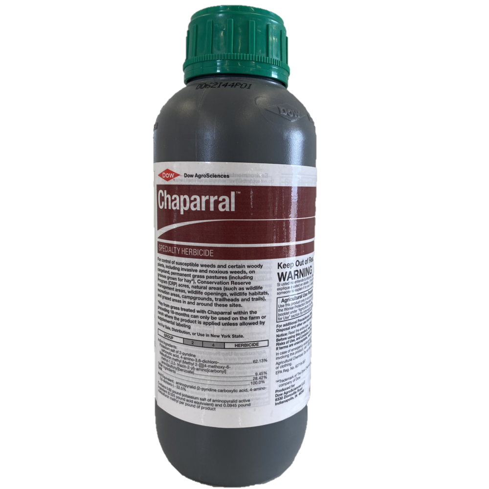 Chaparral Range and Pasture Herbicide No Grazing Restrictions-1.25 lbs