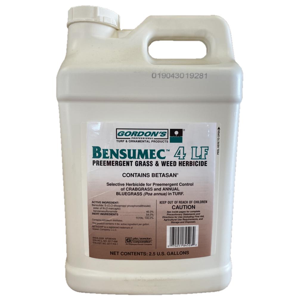 Bensumec 4LF Herbicide.  2.5 Gallons