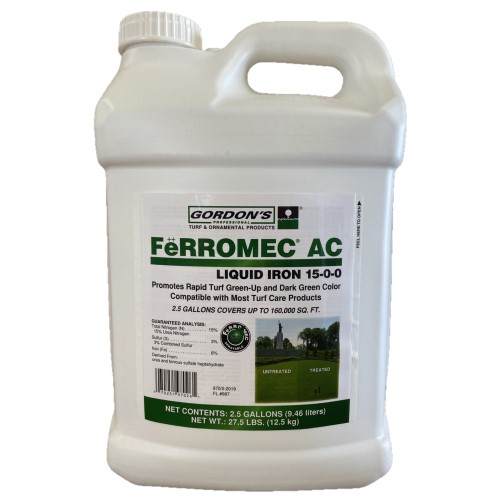 Ferromec AC Liquid Iron. 2.5 Gallon
