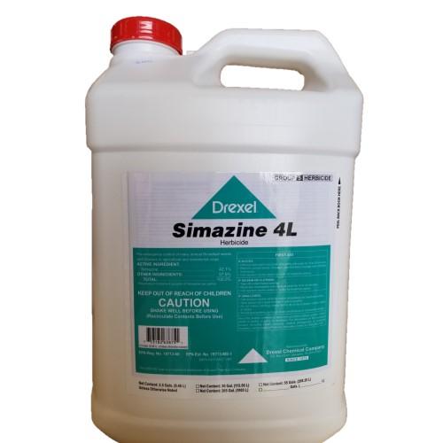 Simazine 4L Drexel 2.5 Gallon.  Pre-Emergent Herbicide for Broadleaf and Grass Suppression