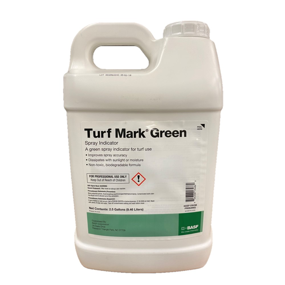 Turf Marker Green Select Spray Pattern Indicator