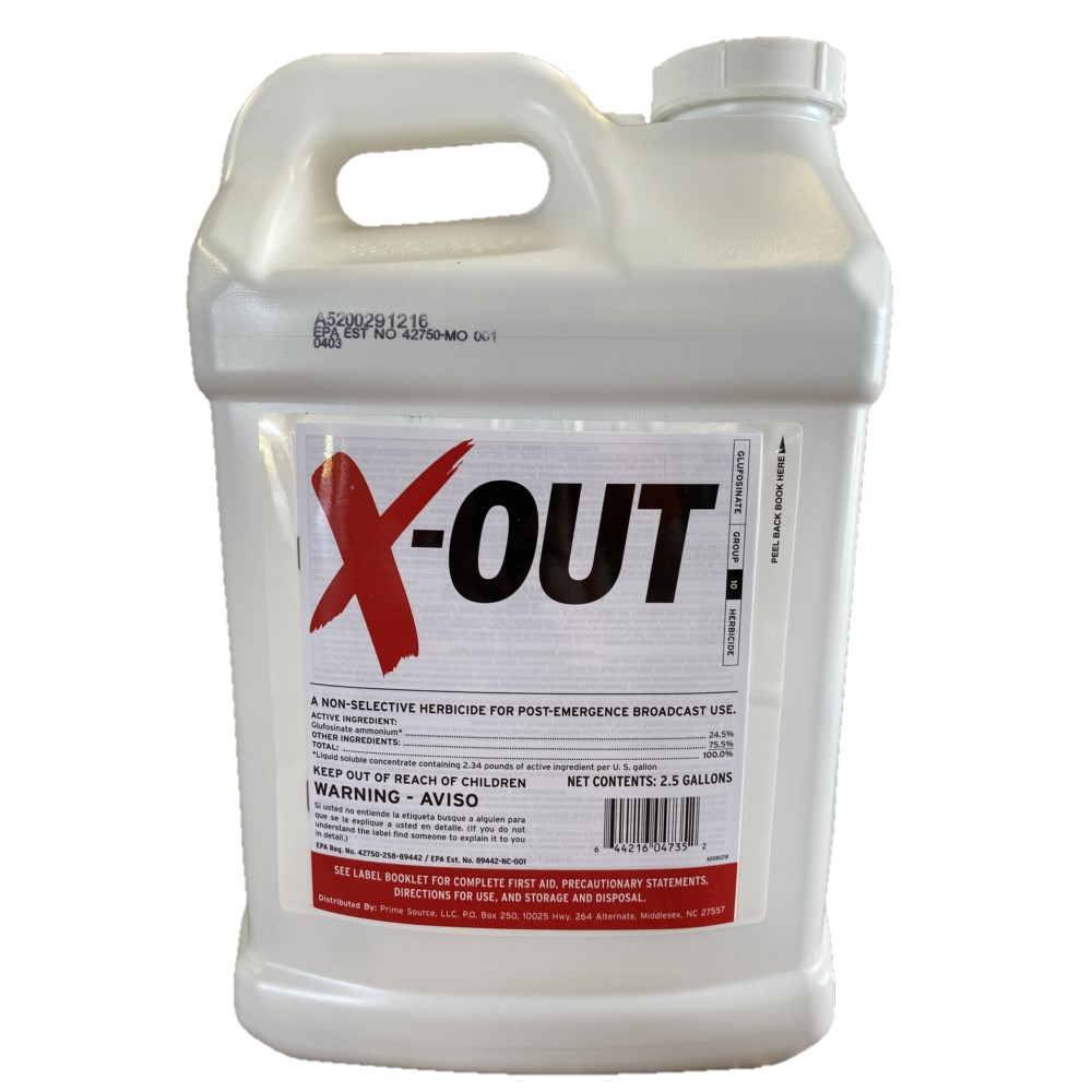 X-Out Non-Selective Herbicide for Post-Emergence use