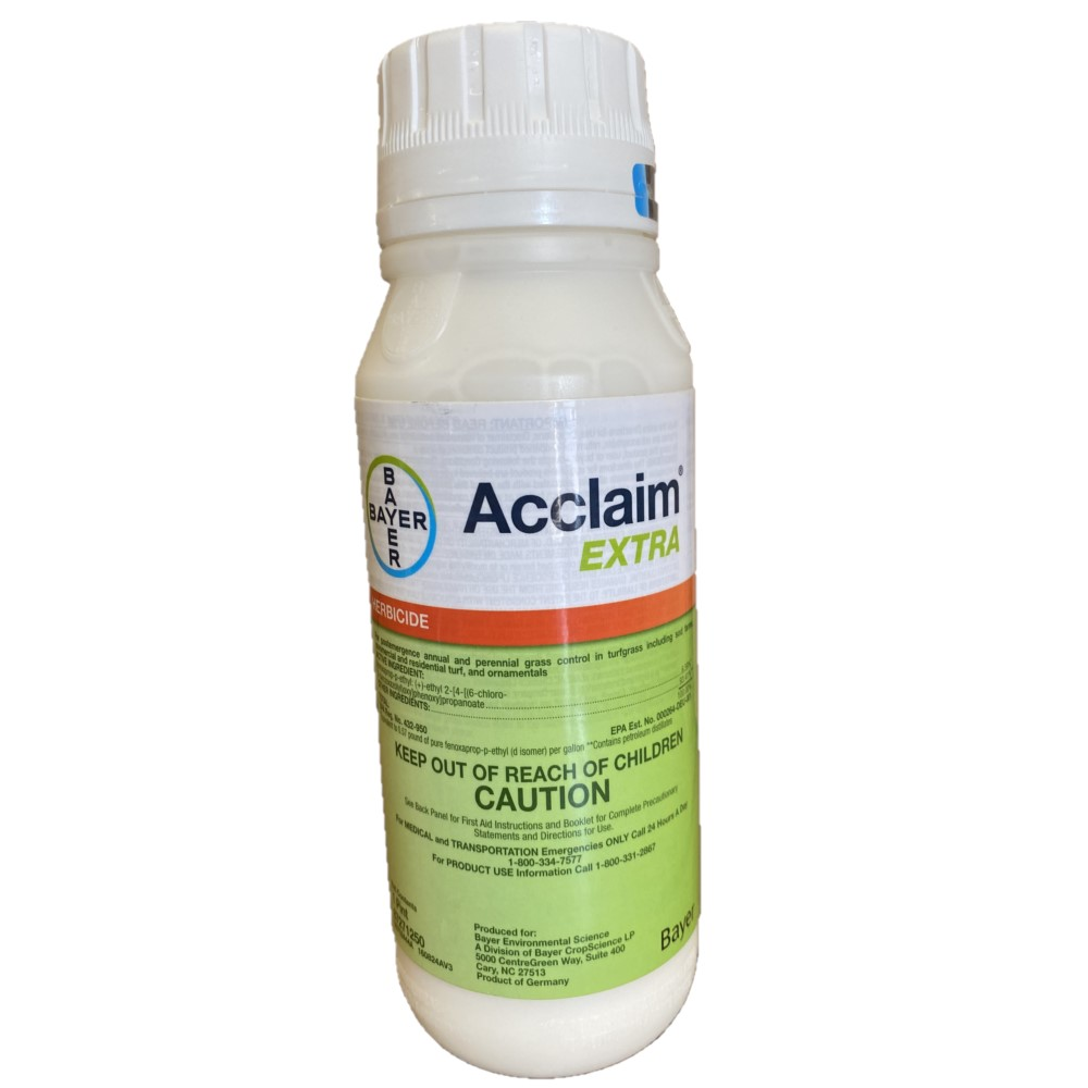 Acclaim-Extra Selective Grass Herbicide. 1 Pint