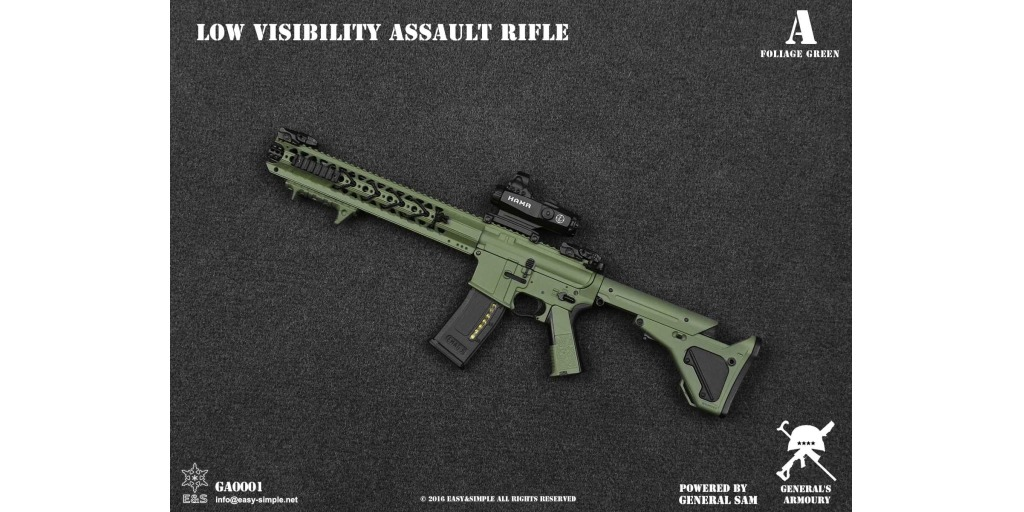 osw.zone Check out the new General's Armoury Low Visibility Assault Rifle!