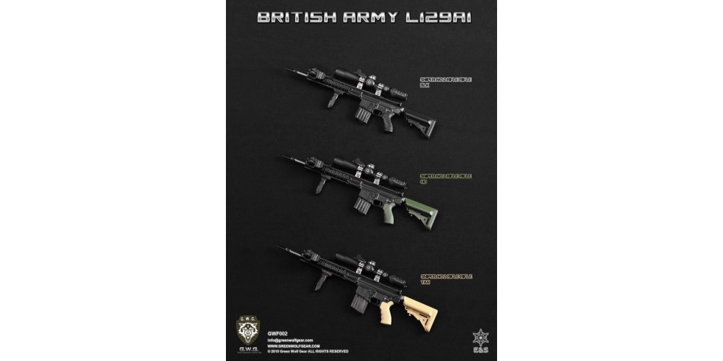 osw.zone Check out the new Sniper & Sharpshooter British Rifle L129A1 Sets!
