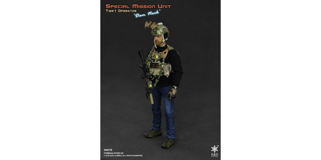 osw.zone Check out the new Special Mission Unit Operator DAM NECK Tier 1 Mint in Box!