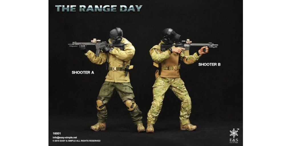 osw.zone Check out the new The Range Day, Shooter Gear Pack A & B!