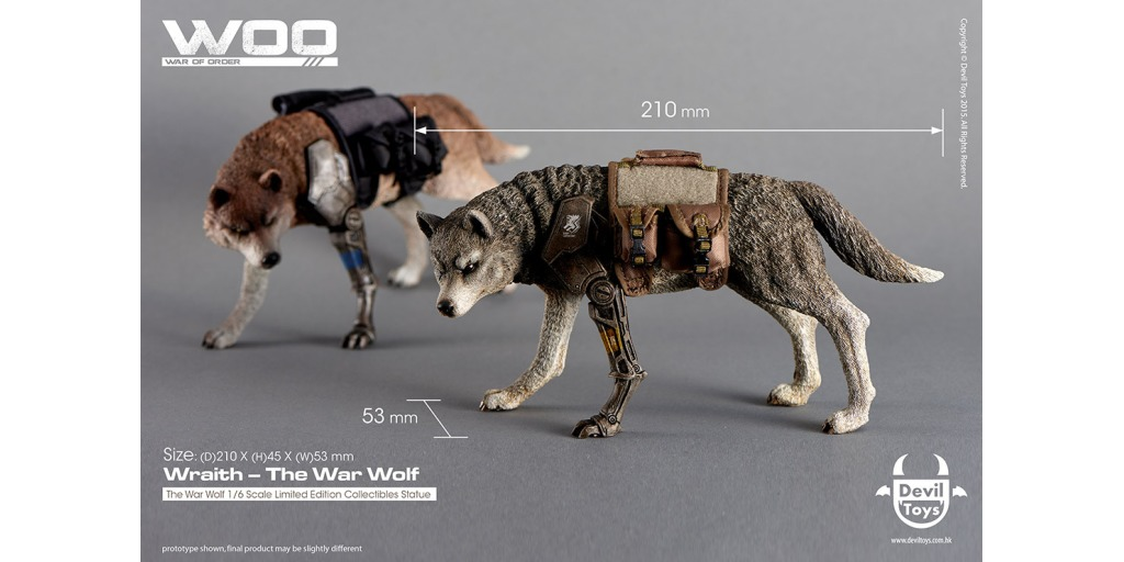 osw.zone Check out the new War of Order War Wolf Wraith Dog!