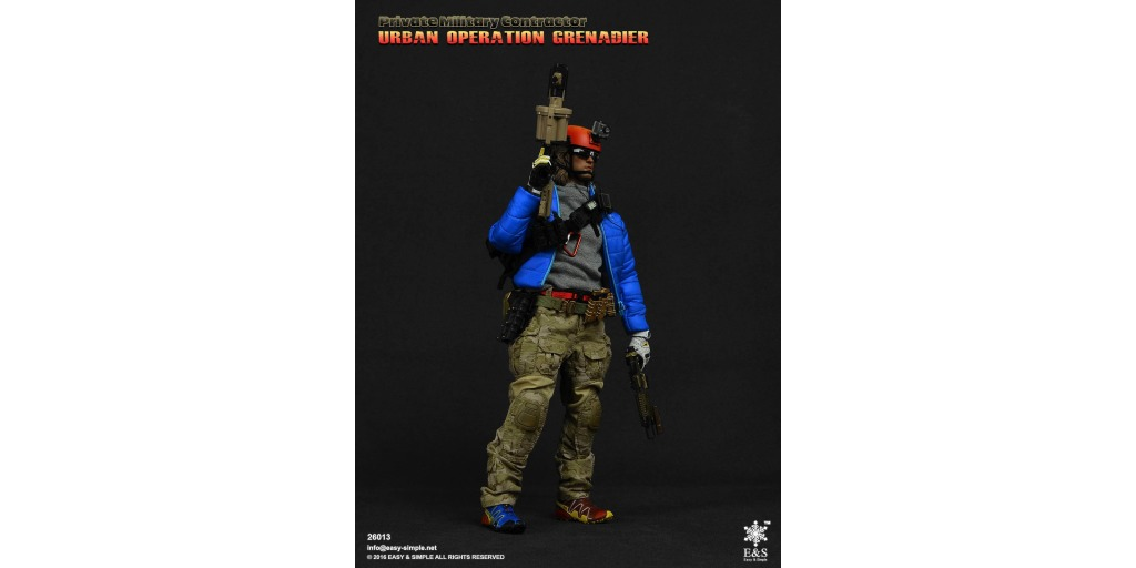 osw.zone Check out the new Private Military Contractor Urban Grenadier!