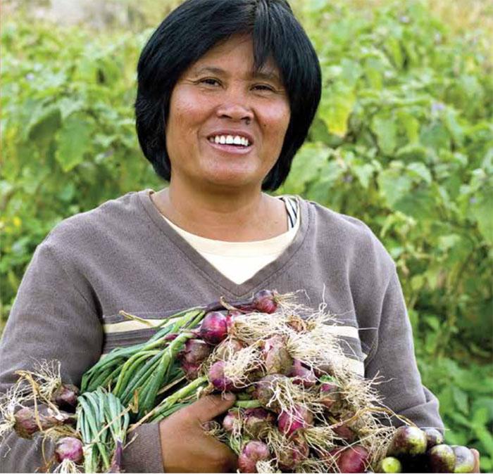 Farmer Josephine Alad-Ad
