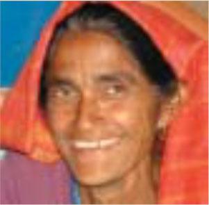 Farmer Binita Bishowkarma