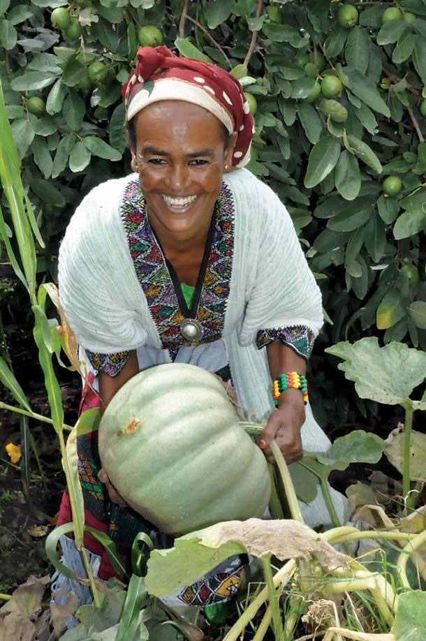 Farmer Birtukan Dagnachew