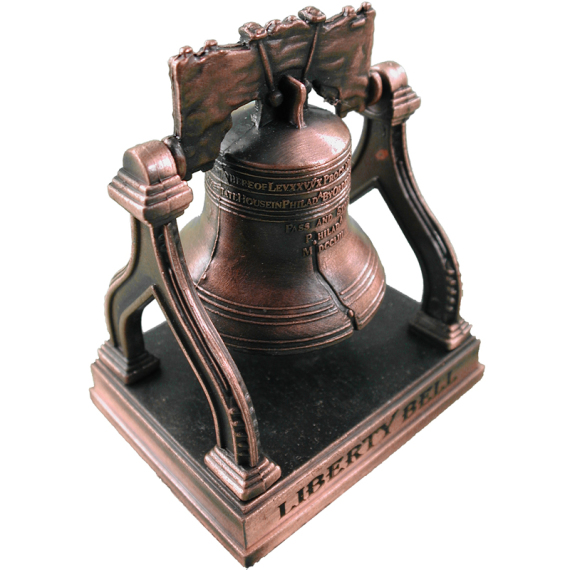 Liberty Bell on Stand