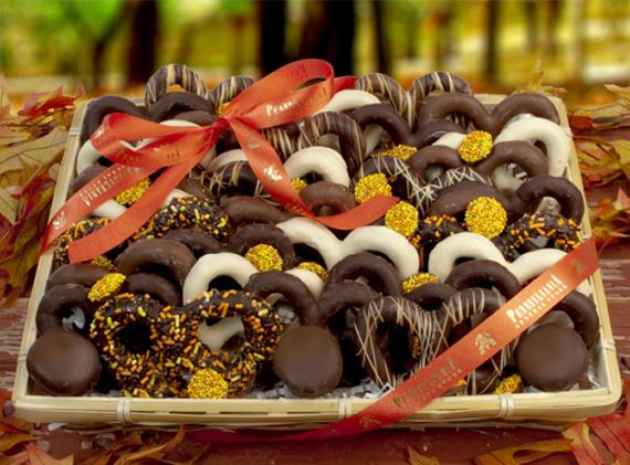 Fall Chocolate Pretzel Tray, 2 lbs.