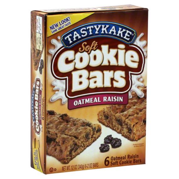 Tastykake Oatmeal Raisin Bar