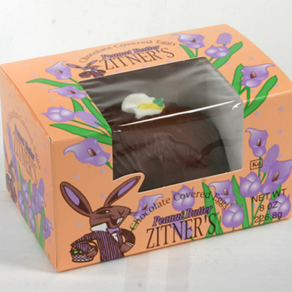 Zitner's Milk Chocolate Peanut Butter Egg, 8 oz.