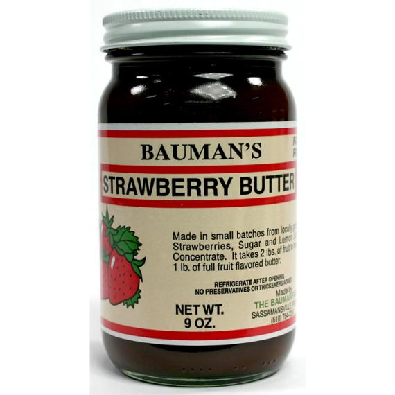 Bauman's Strawberry Butter, 9 oz.
