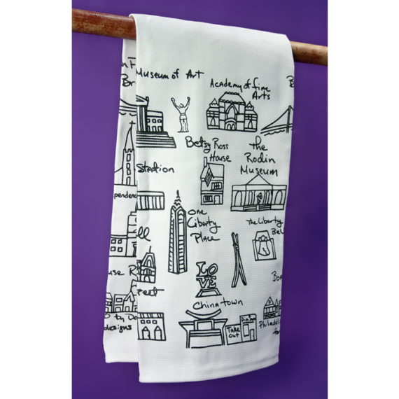 Philly Tea Towel