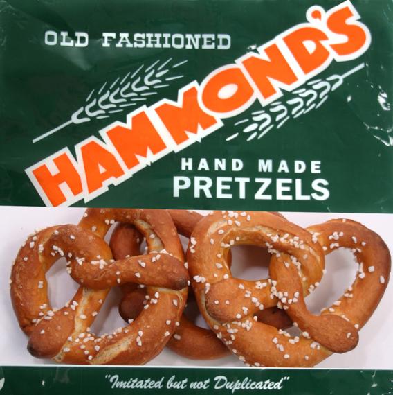 Hammond S Pretzels 8 Oz Bag Pretzels Of Pennsylvania