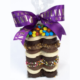 Chocolate Pretzel Gift Bag,  12 oz.