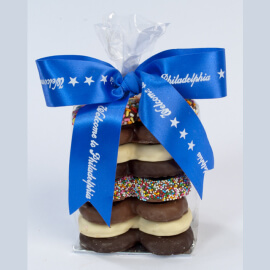 Chocolate Pretzel <BR>Gift Bag, 8 pc.