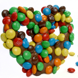 Asher's Milk Chocolate M&M Pretzels
