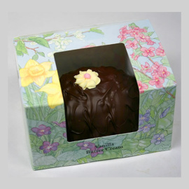 Ashers Milk Chocolate Vanilla Buttercream Egg 16oz
