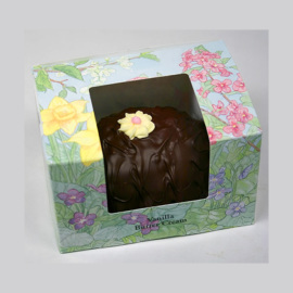 Ashers Dark Chocolate Vanilla Buttercream Egg 16oz