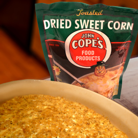 Cope's Dried Sweet Corn,<br> 3 - 3.75 oz. packages