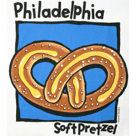 Philadelphia Soft Pretzel T-Shirt