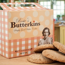 Rosie's Butterkins Cinnamon Retro Box