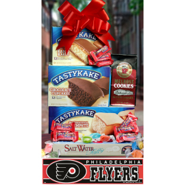 Philly Summertime Tower of Treats plus Flyers Bumper Sticker