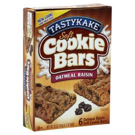 Tastykake Oatmeal Raisin Bar
