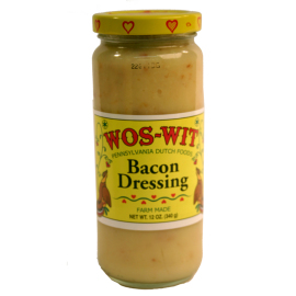 Wos Wit Bacon Dressing, 12 oz.
