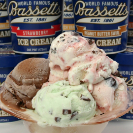 Bassett's  Ice Cream 6 Pint Assortment