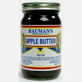 Bauman's Apple Butter, 9 oz.