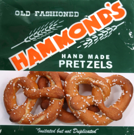 Hammond's Pretzels,<br> 8 oz. bag