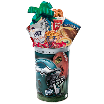 Philly Sport Lovers Eagles Gift Basket