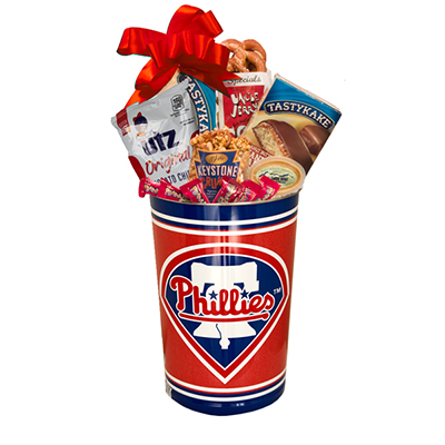 Philly Sport Lover's Phillies Gift Basket