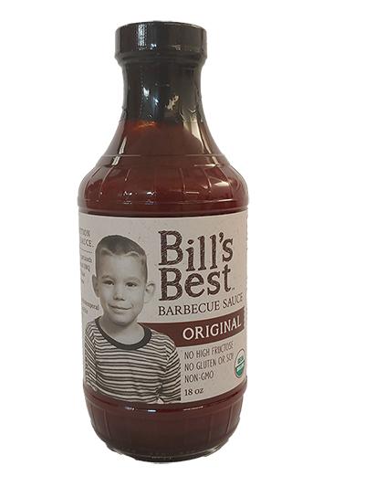 Bill's Best Organic BBQ Sauce