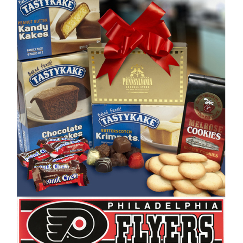 Philly Tower of Treats plus Flyers Bumper Sticker