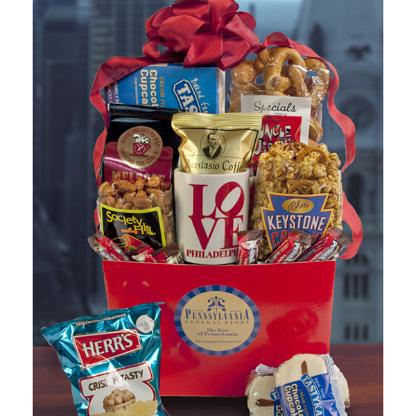 Philly Flavors Gift Basket, Summertime Gifts: Pennsylvania General ...